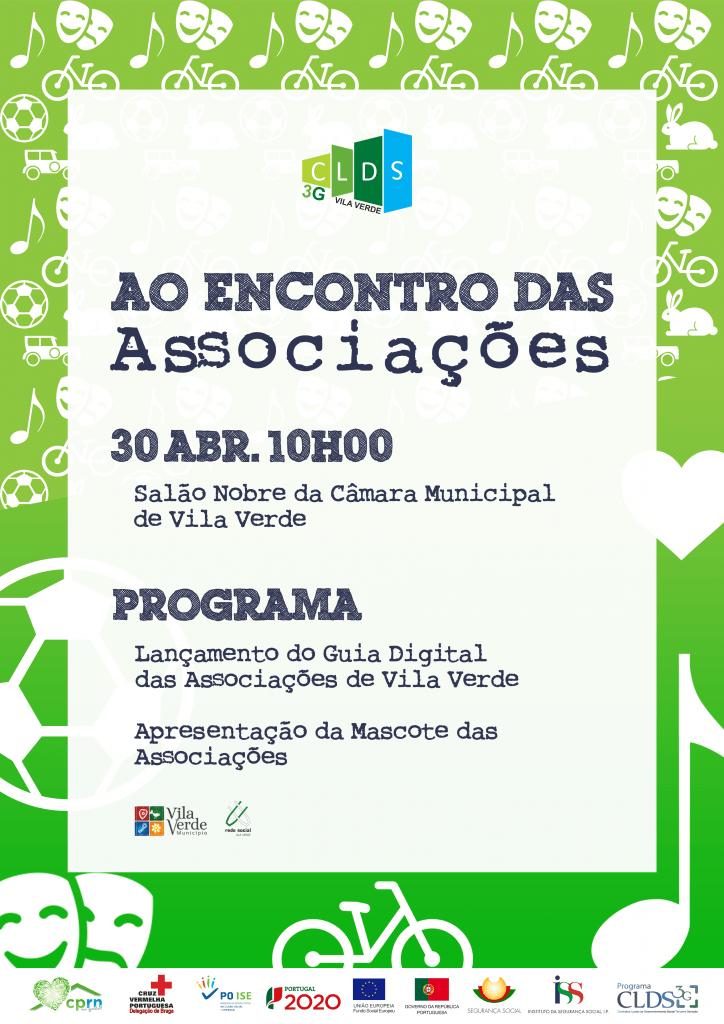 """DIA 30 DE ABRILCLDS-3G Vila Verde apresenta """"Guia Digital e da Mascote das Associações do Concelho de Vila Verde"""""""
