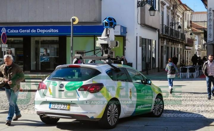 Google actualiza imagens do Street View em Braga
