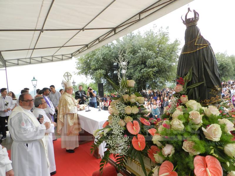 PEREGRINAÇÃO ANUAL Centenas de fiéis em Cervães para louvarem Nossa Senhora do Bom-Despacho