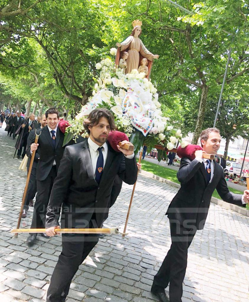 VILA VERDE Santa Casa voltou a celebrar a padroeira, a Senhora da Misericórdia