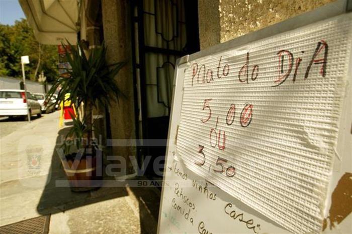 """EM CAUSA """"IVA DIFERENCIADO""""Fisco vai multar restaurantes que apresentem facturas com """"prato do dia"""""""