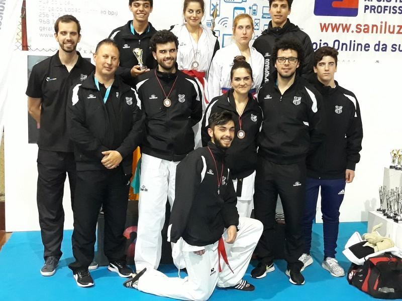 TAEKWONDOGD Prado com oito medalhas no Open Internacional de Canedo