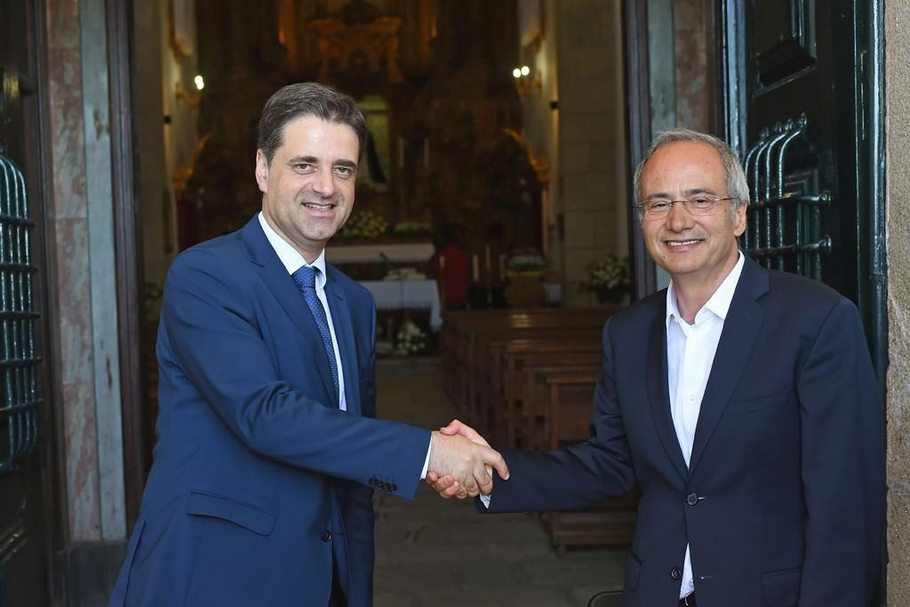 CONCERTAR ACÇÕES Braga e Guimarães formalizam Programa Intermunicipal dos Sacromontes
