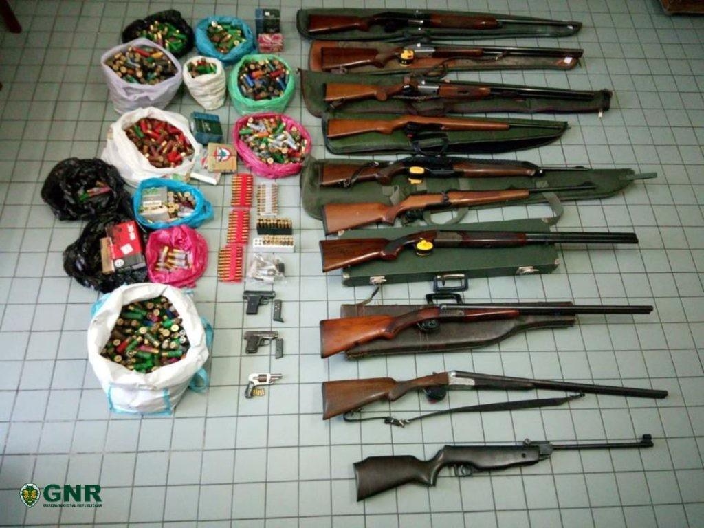 CRIME GNR apreendeu armas em Cabeceiras de Basto