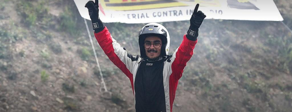 DIOGO CORREIAPiloto vilaverdense vence prova do Campeonato de Drift