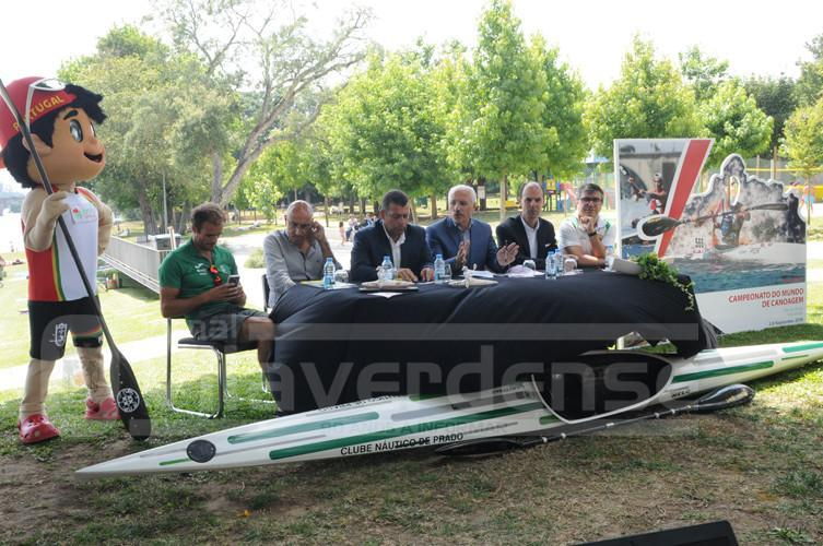 PROVA DECORRE EM PRADO DE 6 A 9 DE SETEMBRO - Mundial de Canoagem foi apresentado esta tarde na Praia Fluvial do Faial