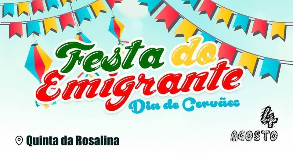 DIA 4 DE AGOSTO - Sábado há Festa do Emigrante em Cervães
