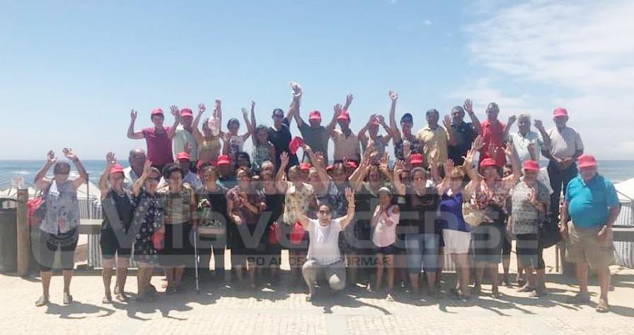 """MARRANCOS – Vila Verde: Junta promoveu """"Semana de Praia para Aposentados"""" da União de Freguesias de Marrancos e Arcozelo"""