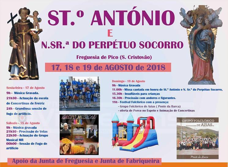 PICO SÃO CRISTÓVÃO –  Festa é no próximo fim-de-semana