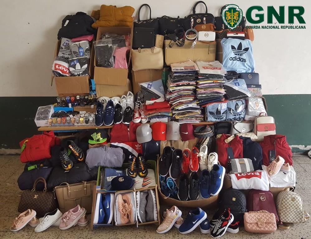 CRIME –  GNR apreende mais de quatro mil artigos contrafeitos