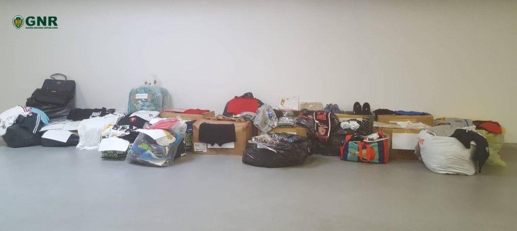 CRIME –  GNR apreende mais de dois mil artigos contrafeitos