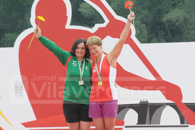 CANOAGEM - Ouro para Silvestre Pereira e prata para Ana Esteves