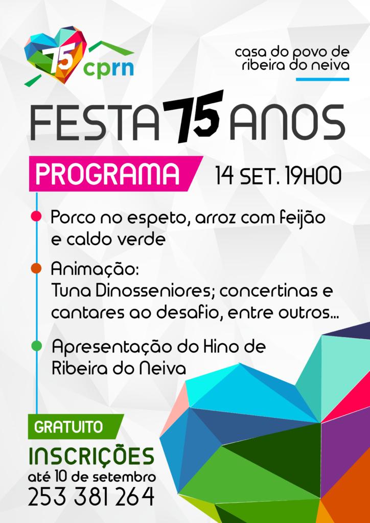 RIBEIRA DO NEIVA - Casa do Povo assinala esta sexta-feira 75 anos