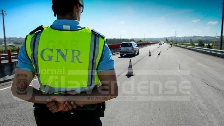 12 por condução sob o efeito do álcool: Comando Distrital de Braga deteve 30 pessoas na última semana