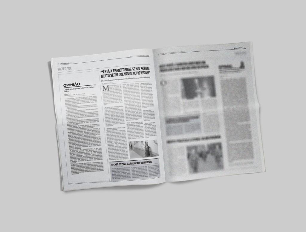 EDIÇÃO IMPRESSA - Directora da Casa do Povo da Ribeira do Neiva mostra-se «bastante preocupada» com valência da terceira idade