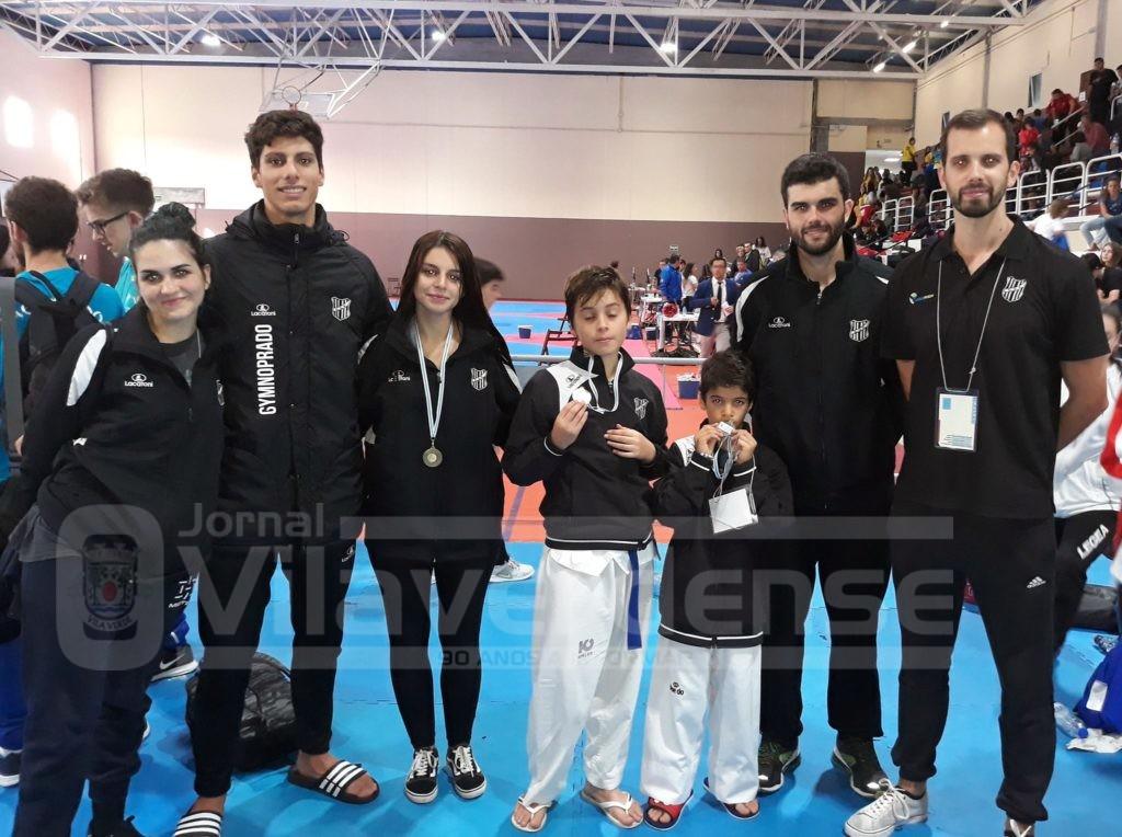 DESPORTO –  Taekwondo do GD Prado com quatro medalhas