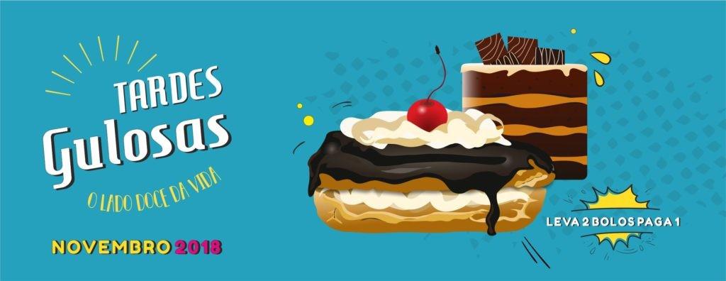 REGIÃO –  Tardes Gulosas propõem dois bolos pelo preço de um em Novembro
