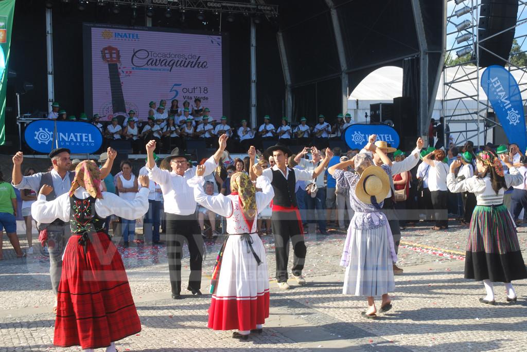 FESTA DAS COLHEITAS –  Meio milhar em Encontro Nacional de Tocadores de Cavaquinho