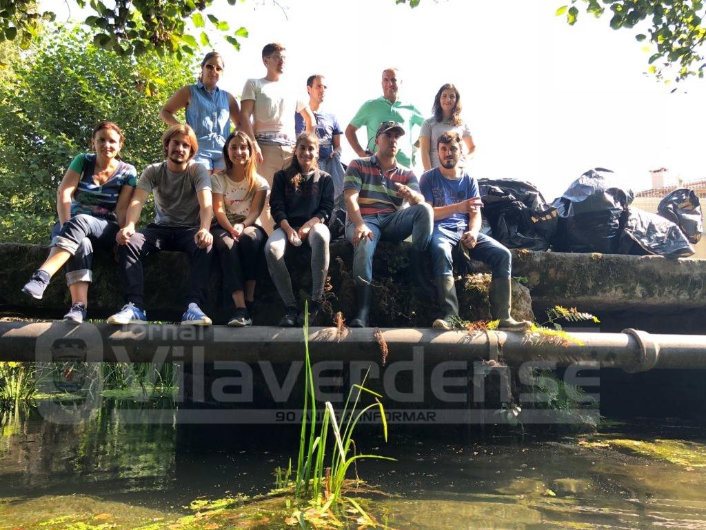 VILA VERDE - JSD promoveu acção ambiental com limpeza da Ribeira do Tojal