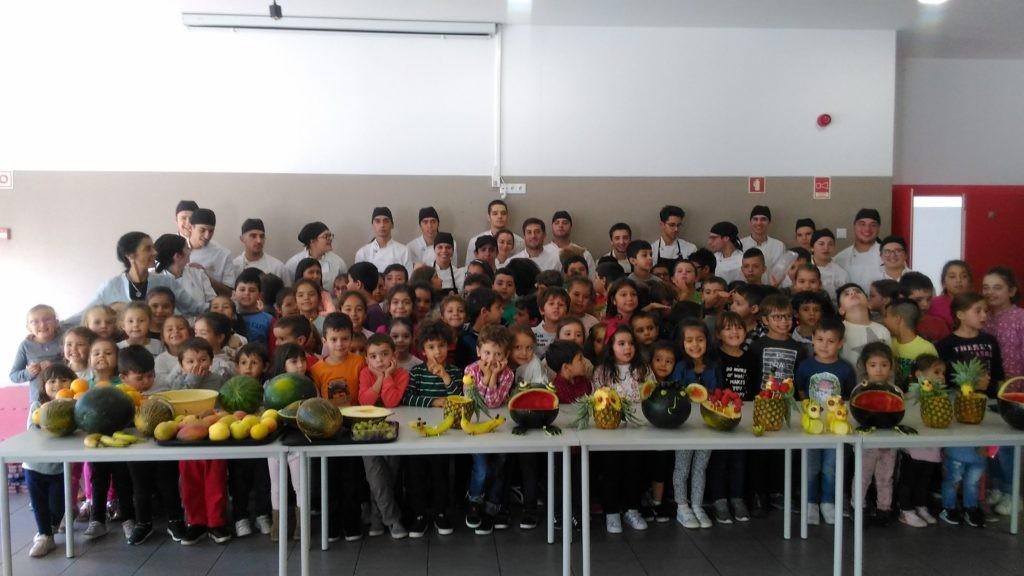 SOUTELO - Escola Básica realizou actividade alusiva ao Dia Mundial da Alimentação em parceria com a EPATV