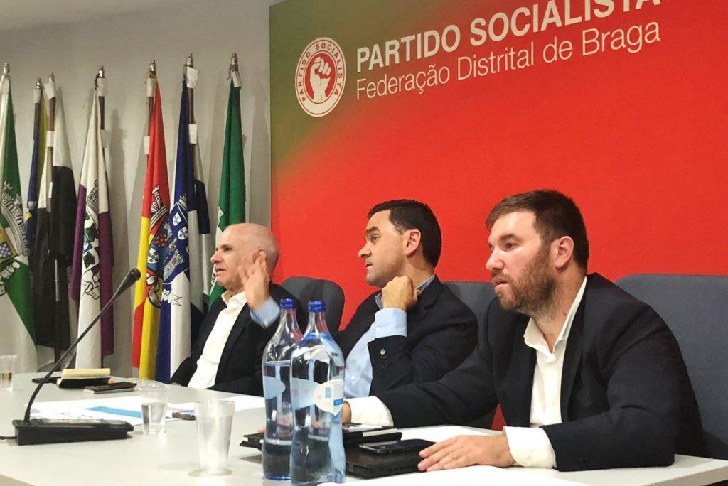 PAÍS –  Ministro Pedro Marques debateu Orçamento de Estado com PS de Braga