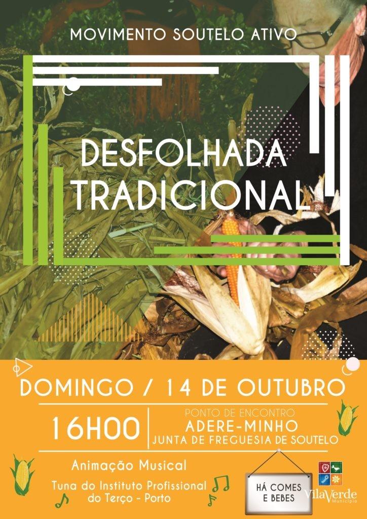 """SOUTELO - Movimento Soutelo Activo organiza """"Desfolhada Tradicional"""" no dia 14 de Outubro"""