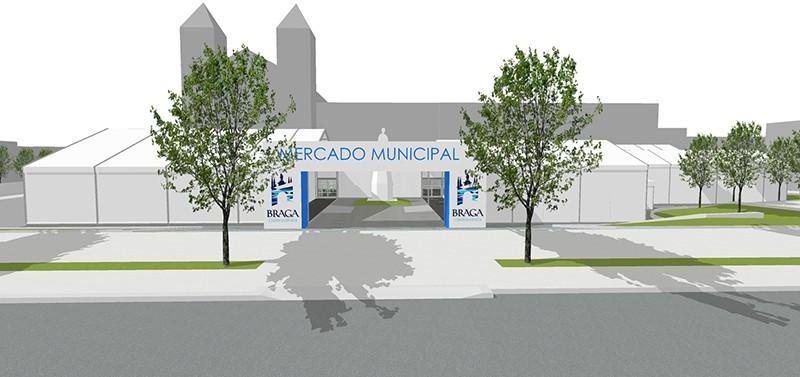 BRAGA –  Tribunal Administrativo autorizou arranque da obra do Mercado Municipal