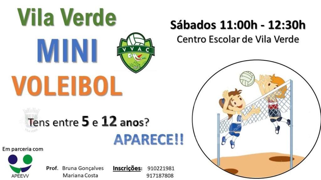 DESPORTO –  VVAC com inscrições abertas para o mini-voleibol