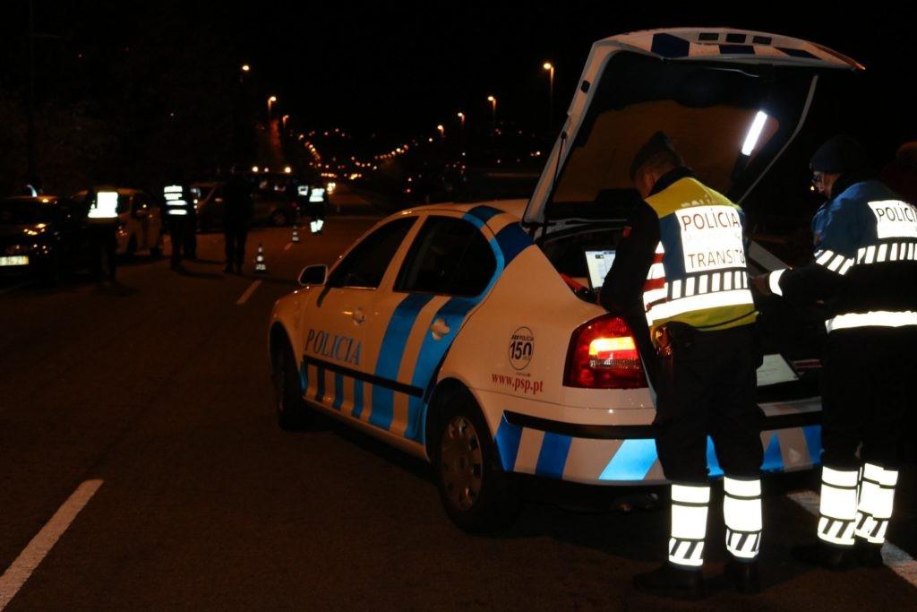 BRAGA - PSP deteve cinco pessoas por droga, álcool no sangue e condução ilegal