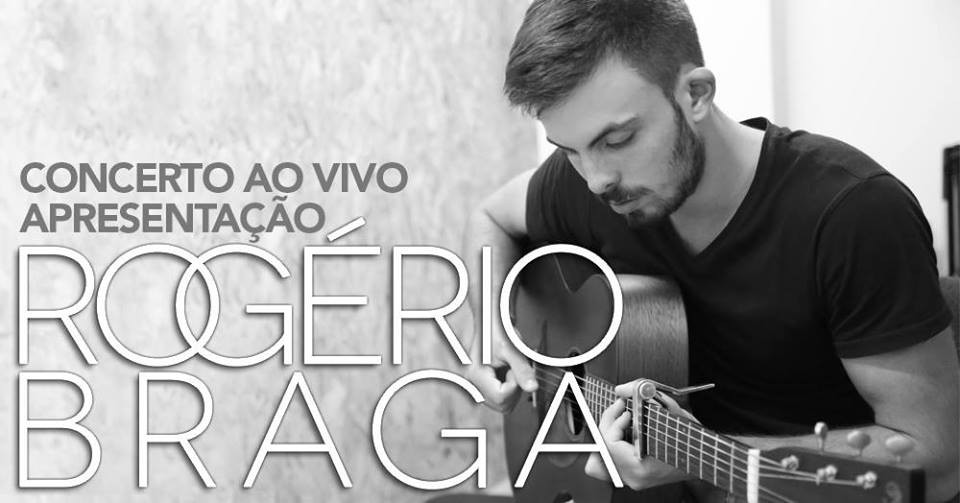 MÚSICA –  Rogério Braga apresenta originais e banda