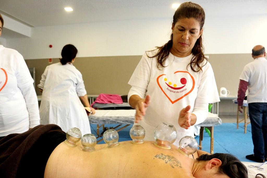 SOUTELO –  Cerca de 70 pessoas participaram no Hospital do Sorriso