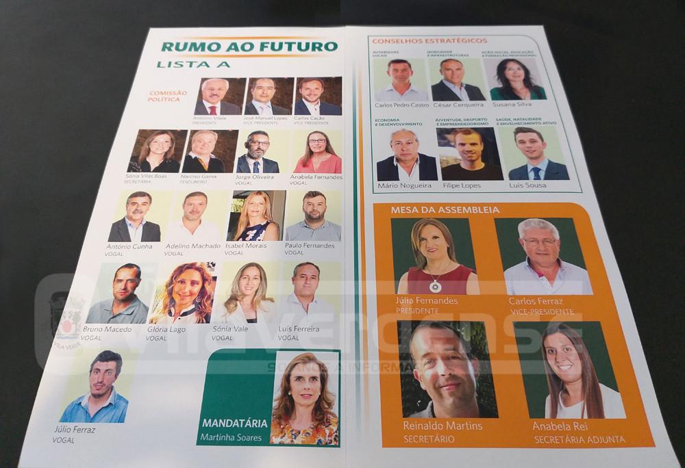 POLÍTICA –  Vilela candidato à Concelhia do PSD com Júlia Fernandes na Mesa da Assembleia