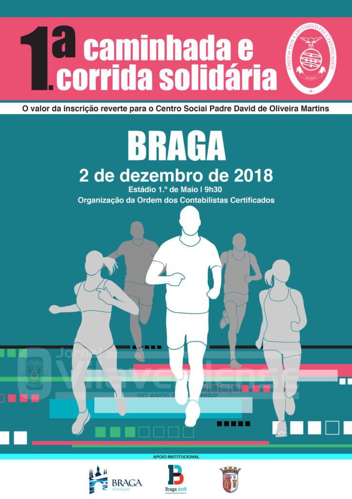 DESPORTO E LAZER - Ordem dos Contabilistas Certificados organiza 1ª Caminhada e Corrida Solidária em Braga