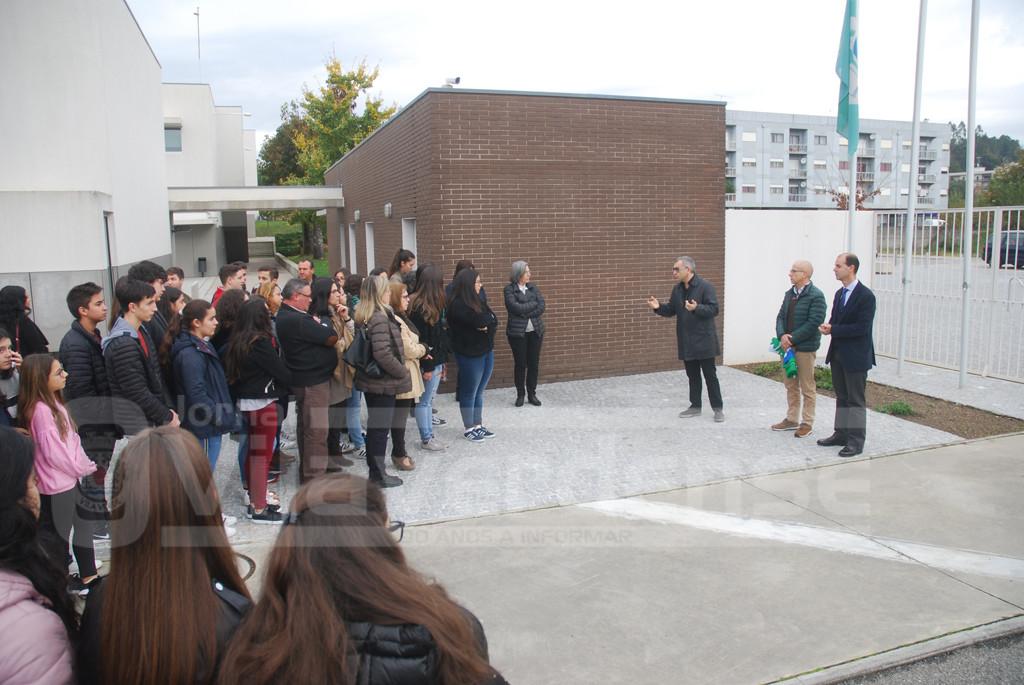 VILA VERDE –  Escola Secundária hasteia bandeira de boas práticas ambientais