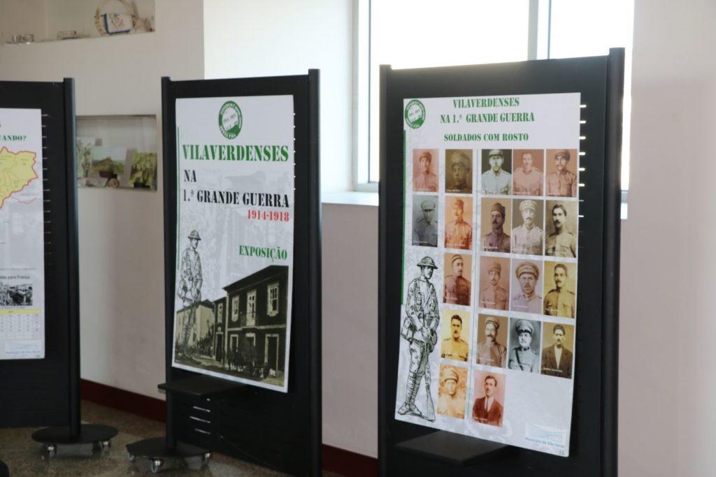 """VILA VERDE - Exposição """"Vilaverdenses na 1ª grande guerra"""" patente ao público no Município até 30 de Novembro"""