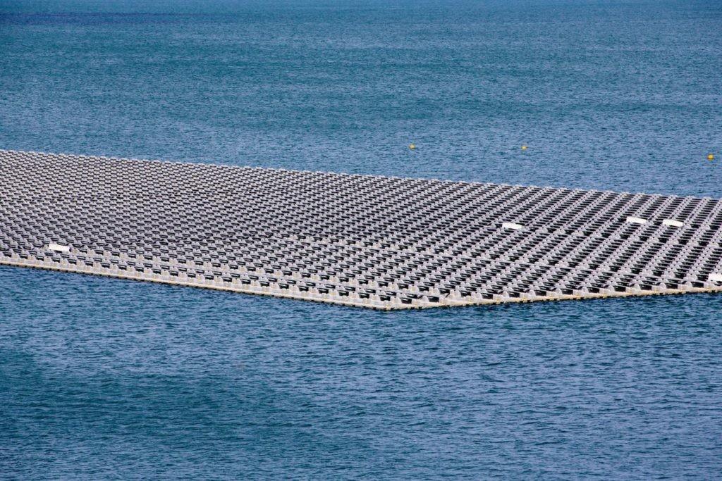 NACIONAL - DST Group constrói primeira central fotovoltaica de grande dimensão em estrutura flutuante em Portugal