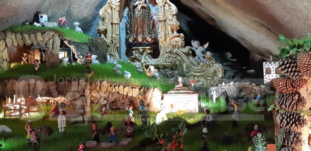 CERVÃES (Vila Verde): Santuário do Bom-Despacho acolhe presépio movimentado