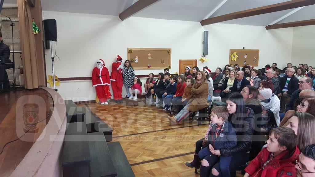 OLEIROS –  Paróquia promoveu Festa de Natal
