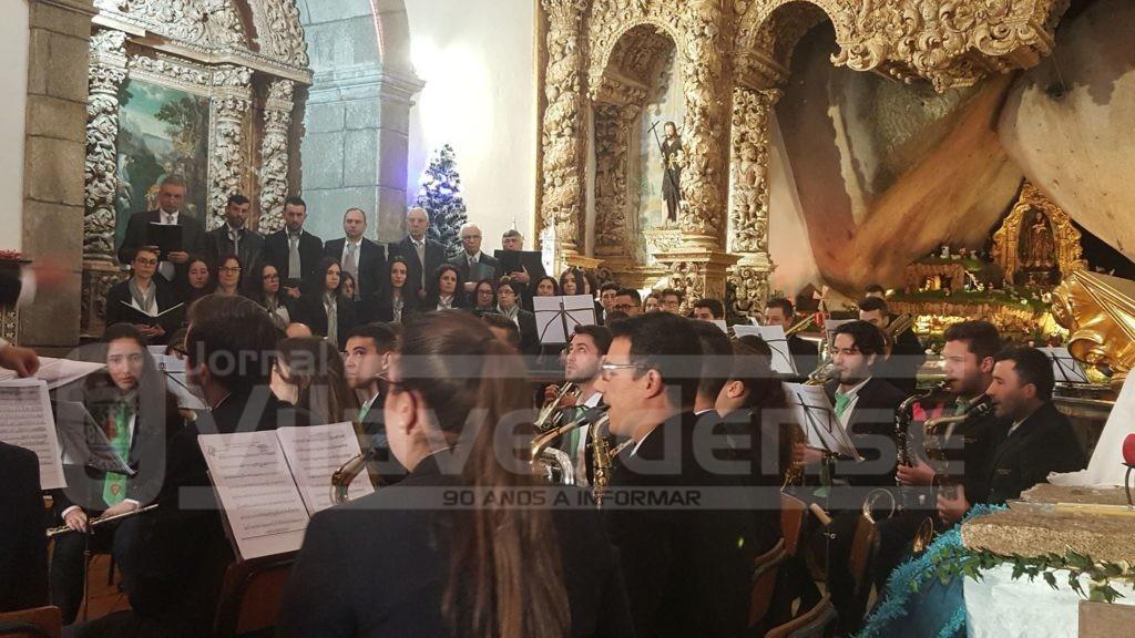 CERVÃES –  Santuário do Bom Despacho encheu para Concerto de Natal