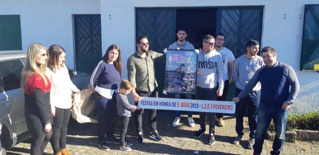 MARRANCOS –  Comissão de Festas de S. Brás hasteia bandeira e apresenta Augusto Canário como principal destaque