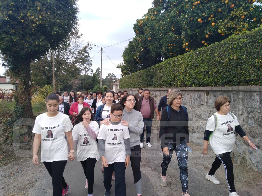 LAGE – Este domingo há nova caminhada pela jovem Beatriz Martins