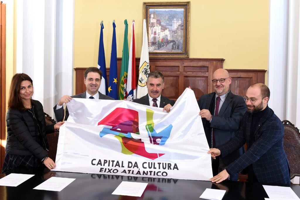 BRAGA - Braga recebe passagem de testemunho da Capital da Cultura do Eixo Atlântico