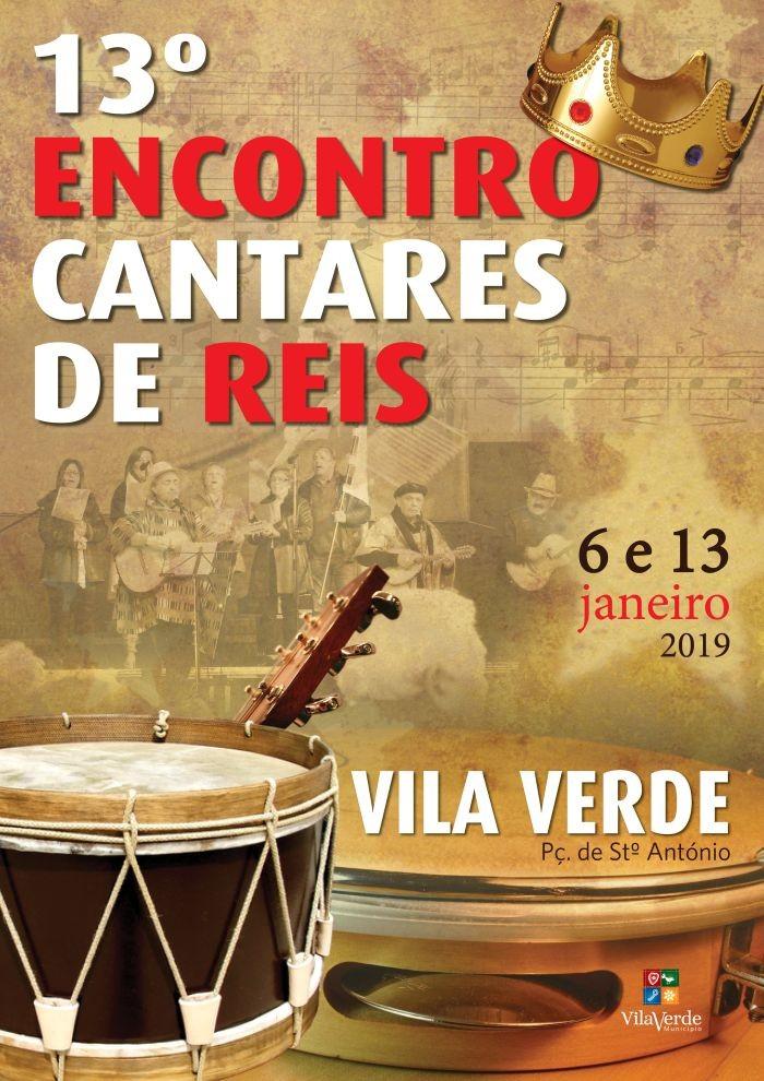 VILA VERDE - 13º Encontro de Cantares de Reis de Vila Verde com 41 Grupos participantes