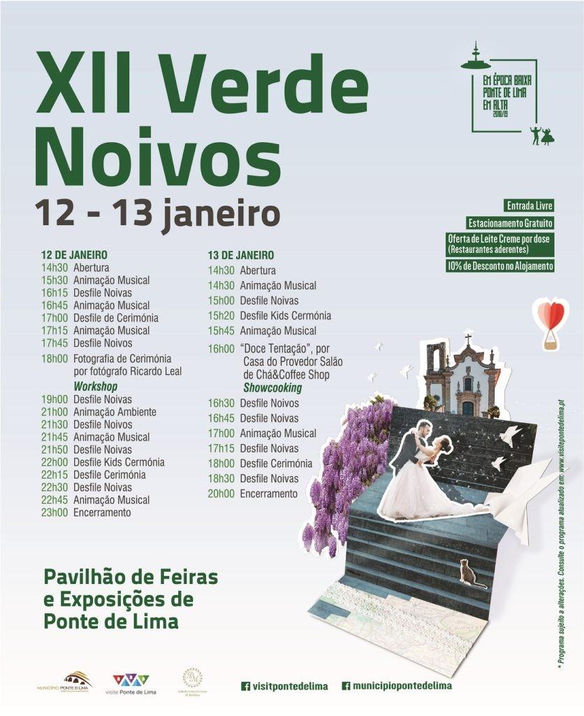 REGIÃO - XII Verde Noivos nos dias 12 e 13 de Janeiro em Ponte de Lima