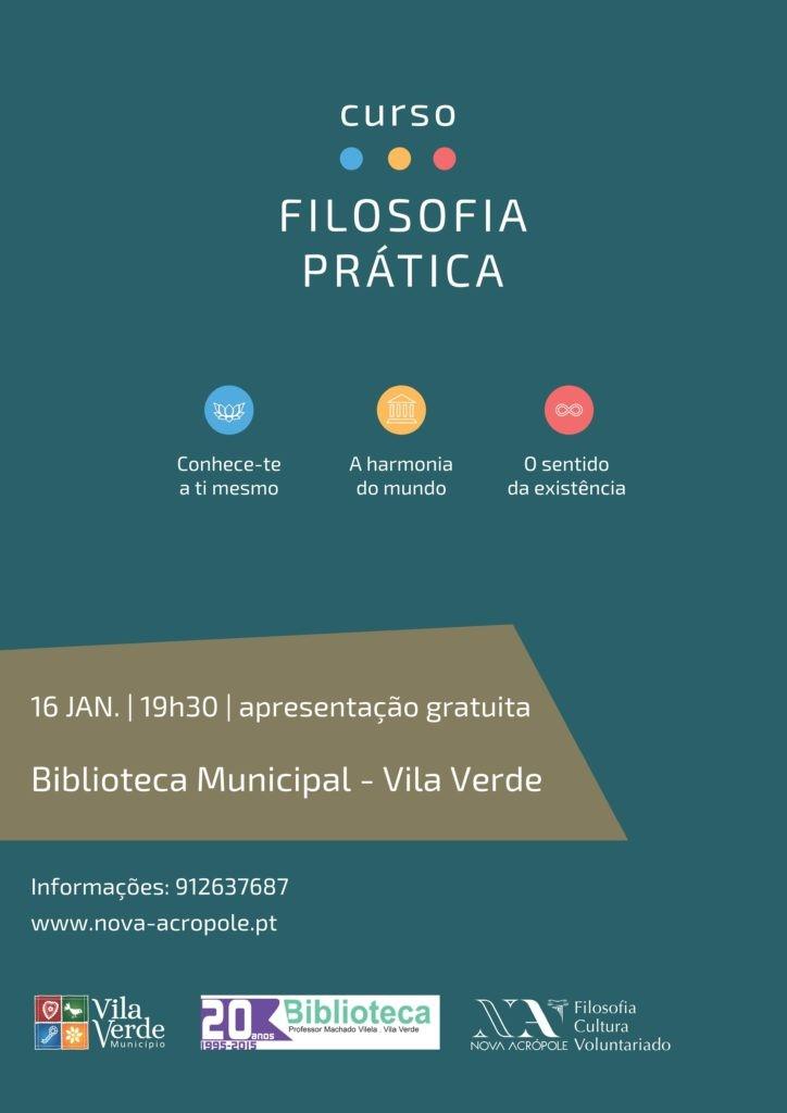 VILA VERDE - Biblioteca Municipal recebe curso de filosofia prática