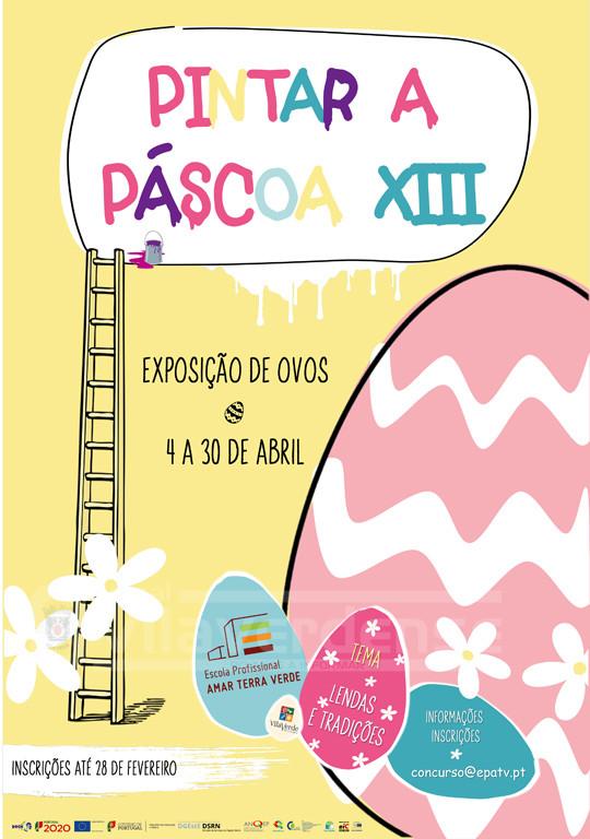 VILA VERDE - Pintar a Páscoa de 4 a 30 de Abril na Praça do Município