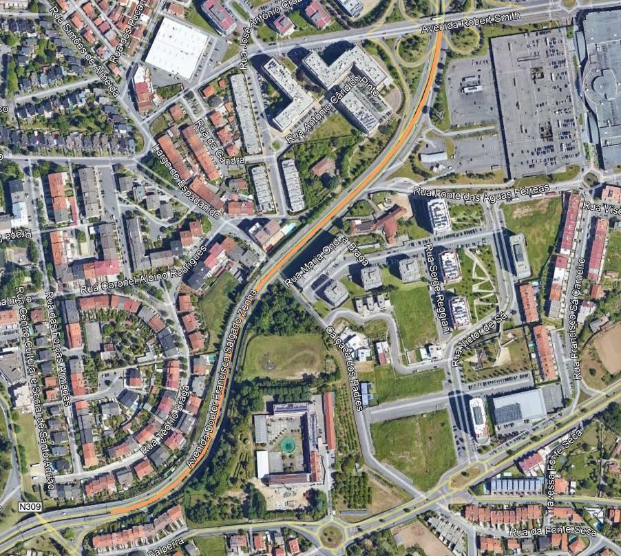 BRAGA –  Trânsito condicionado esta quinta-feira na Variante Sul
