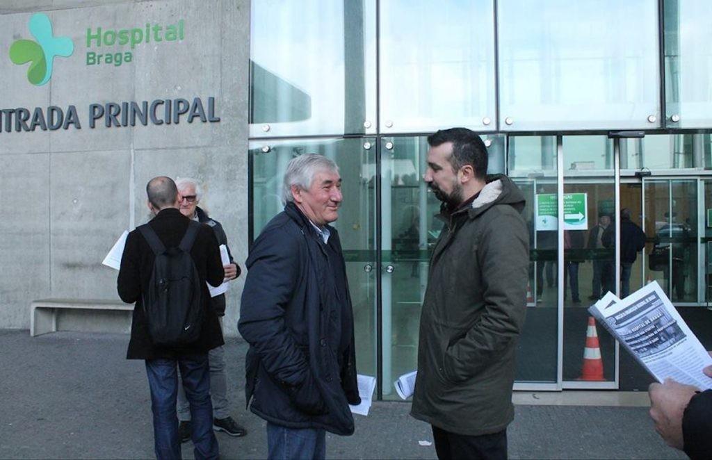 """BRAGA –  PCP diz que Governo tem """"oportunidade única"""" para acabar com PPP no Hospital de Braga"""