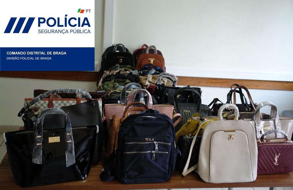 JUSTIÇA –  PSP de Braga apreende dezenas das carteiras a mulher