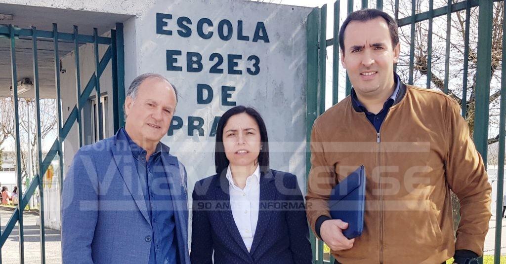 VILA DE PRADO (Educação): Vereadores do PS falam em «grandes atrasos» na obra de requalificação da Escola Básica de Prado e pedem explicações à maioria PSD